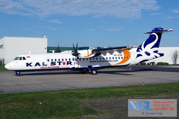 01.11.2014 PK-KSD Kalstar Indonesia ATR 72-500 cn585