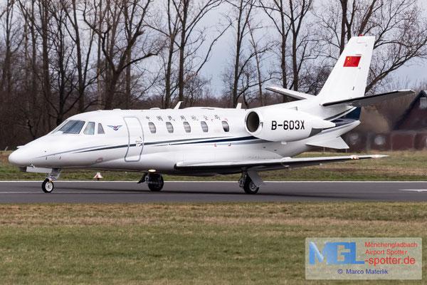 17.03.2021 B-603X Civil Aviation Administration of China Cessna 560XL Citation XLS+