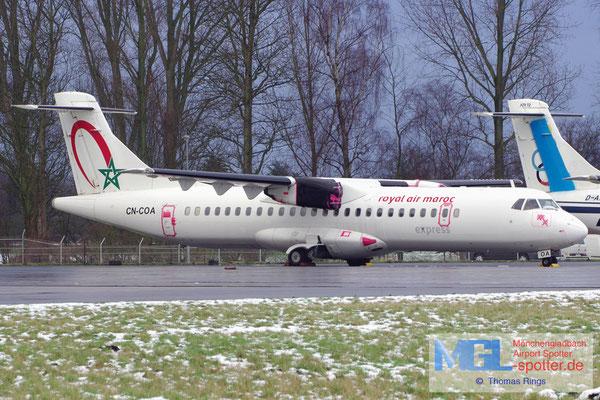07.02.2013 CN-COA Royal Air Maroc Express ATR 72-202 cn441