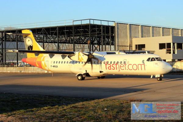 18.02.2019 F-WNUA NAC / Fastjet ATR 72-600 cn 1047