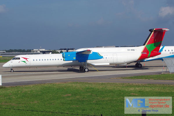 27.09.2014 5Y-VVO Bluebird Aviation DHC-8-402Q