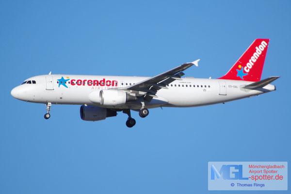 04.04.2015 ES-SAL SmartLynx Estonia / Corendon A320-214