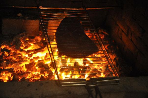 Roastbeef auf dem Grill (9 CHF/kg) ;-)!!!