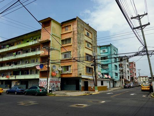 Stadtzentrum von Colon