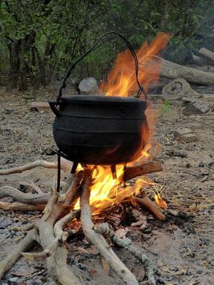"""Typisch paraguayisches Essen """"Gison"""""""