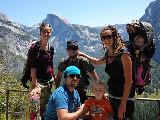 Beim Aufstieg zu den Yosemite Falls