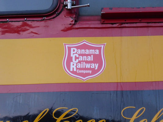 Panama Canal Railway - Heute leider nur noch ein Touristenzug