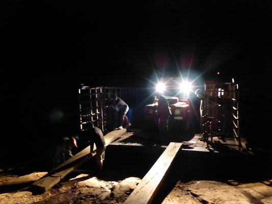 Entladen um Mitternacht - Porto Joffre