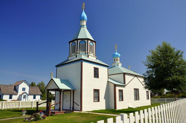 Die russisch-orthodoxe Kirche in Kenai