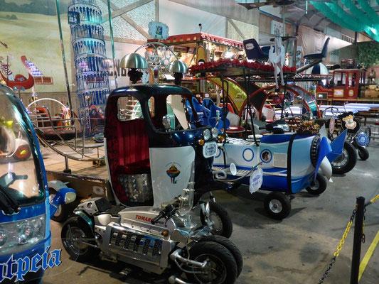 Interessante Fahrzeuge am Oktoberfest