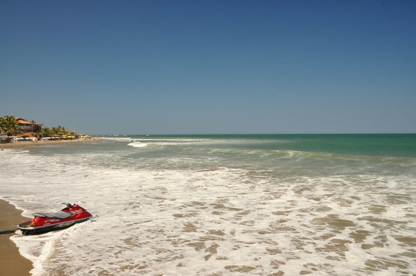 Der beliebte Surferstrand mit der perfekten Welle