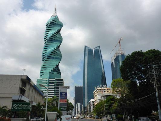 Protzige Wolkenkratzer