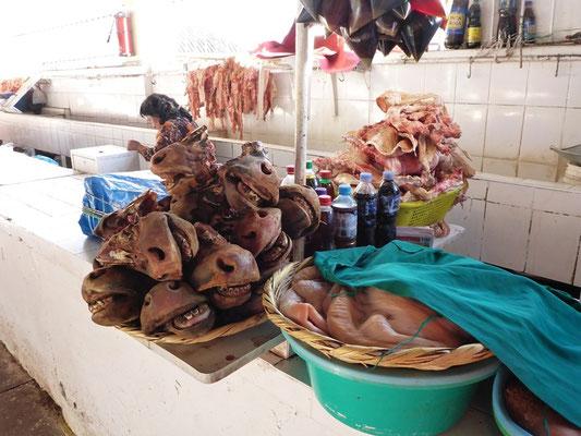 Fleischmarkt - für uns nur zum anschauen