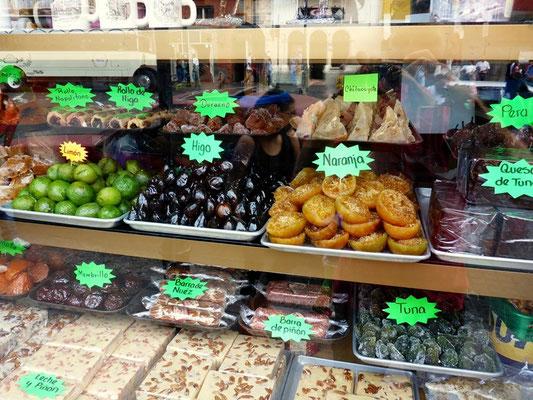 Kandierte Früchte gibt es überall zu kaufen