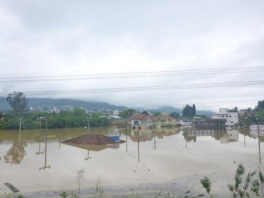 Was für schlimme Überschwemmungen