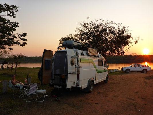 Unser Camp in Conception - Heiss, heisser und viele Mücken