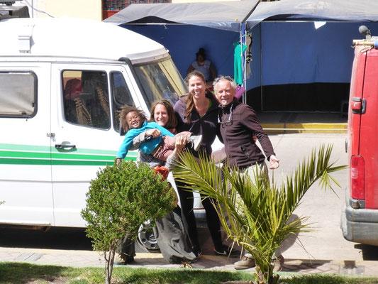 Mit Lorent, Laetitia und Naia