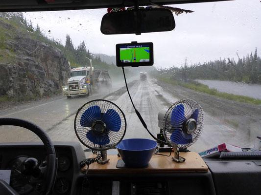 Ventilatoren gefälligst? :-) Seit drei Tagen regnet es fast ununterbrochen