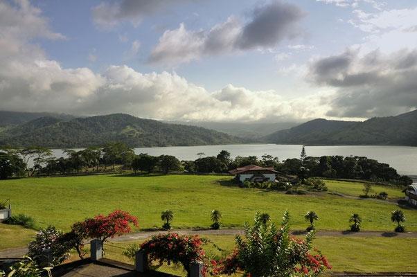Super Aussicht auf den Lago Arenal