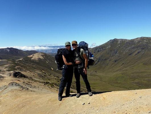 Auf dem höchsten Punkt 4500 m.ü.M.