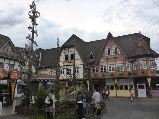 Die deutsche Stadt in Blumenau