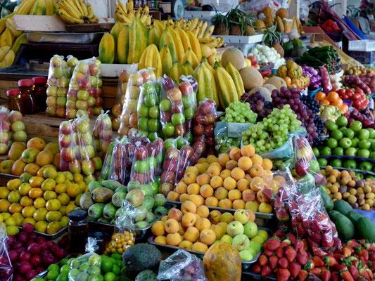 So ein schönes Fruchtangebot