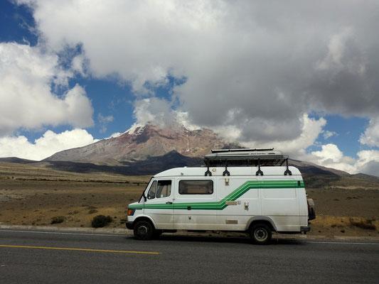 Der höchste Vulkan Ecuadors - Chimborazo