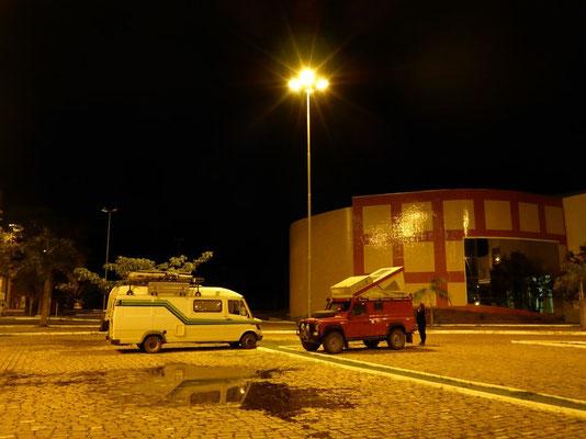 Schlafplatz im Hafen von Corumba