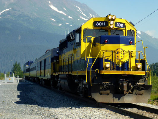 Die Alaska Railway