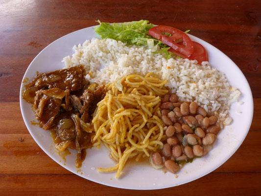 Typisch brasilianisches Essen