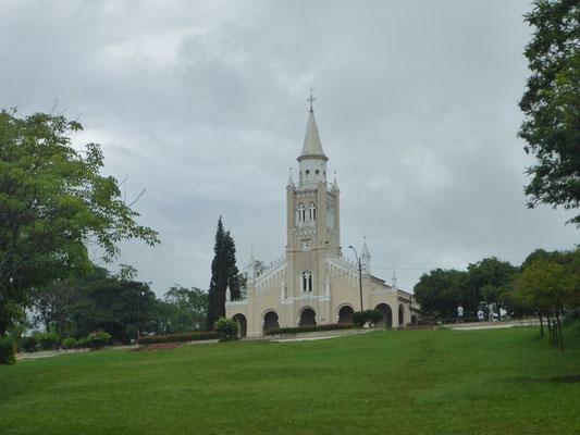 Die malerische Kirche von Aregua