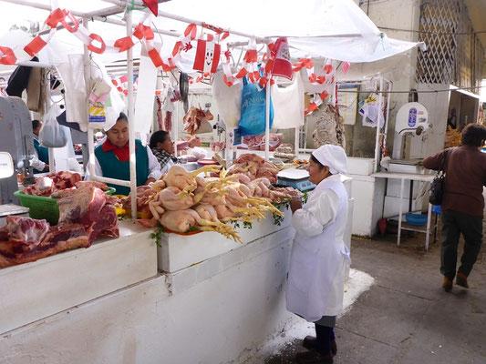 Fleischmarkt - alles sehr Ehrlich und nicht versteckt...