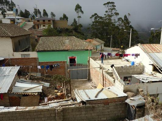Unsere Aussicht in Achupallas