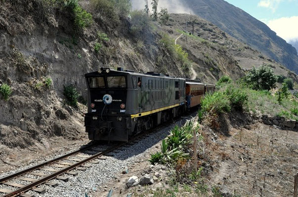 Der Zug zur Nariz del Diablo