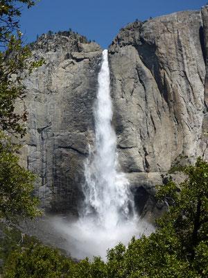 Wow, was für ein schöner Wasserfall