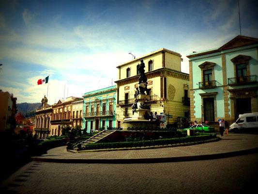 Die Plaza in Guanajuato