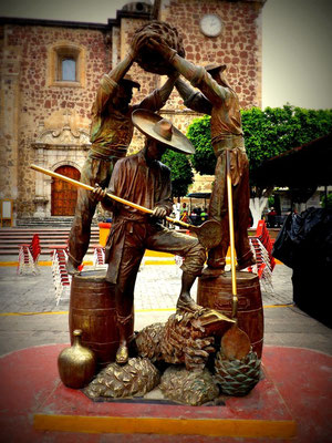 Tequila Statue