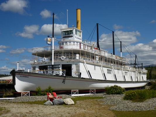 Die SS Klondike verkehrte zwischen Whitehorse und Dawson City