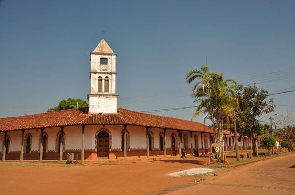 Entspannte Dorfstrassen auf der Missionsroute
