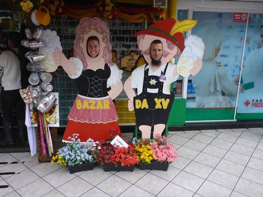 Das Oktoberfest ist überall präsent