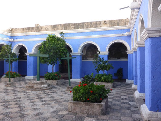 Im Kloster Santa Catarina