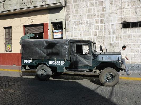 Der Polizei Einsatzwagen