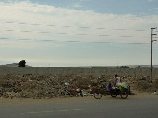 Einige Menschen leben nur vom Müll und sorgen dadurch für Recycling