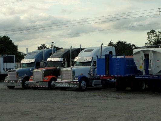 Super schöne verchromte Trucks!