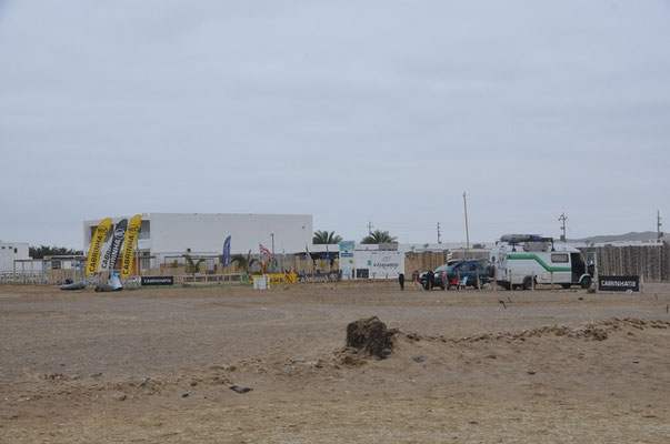 Unser Camp auf Paracas