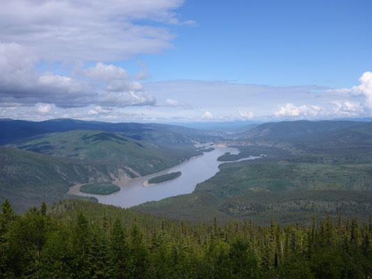 Der riesige Yukonriver