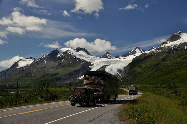Auf dem Weg nach Valdez