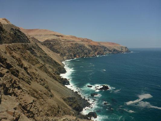Unterwegs auf der Panamericana entlang der Pazifikküste