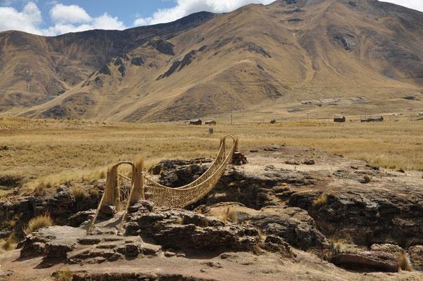 Inka Hängebrücke - Eine eindrückliche Konstruktion