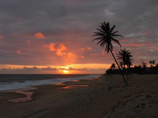 Sonnenaufgang um 05:30